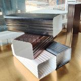 北京高層建築方形排水管 鋁合金水管  安裝