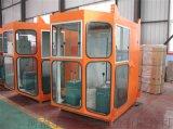 供应双梁龙门行车司机室防火通风保暖 钢化玻璃司机室