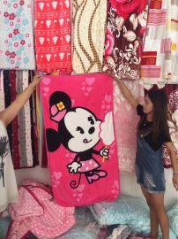 按斤卖法兰绒毛毯25元模式跑江湖地摊靠地商品供应商