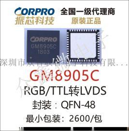 GM8905C TTL转LVDS 国腾原装正品