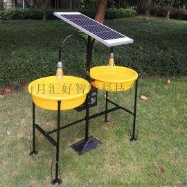 雙燈水淹式太陽能殺蟲燈