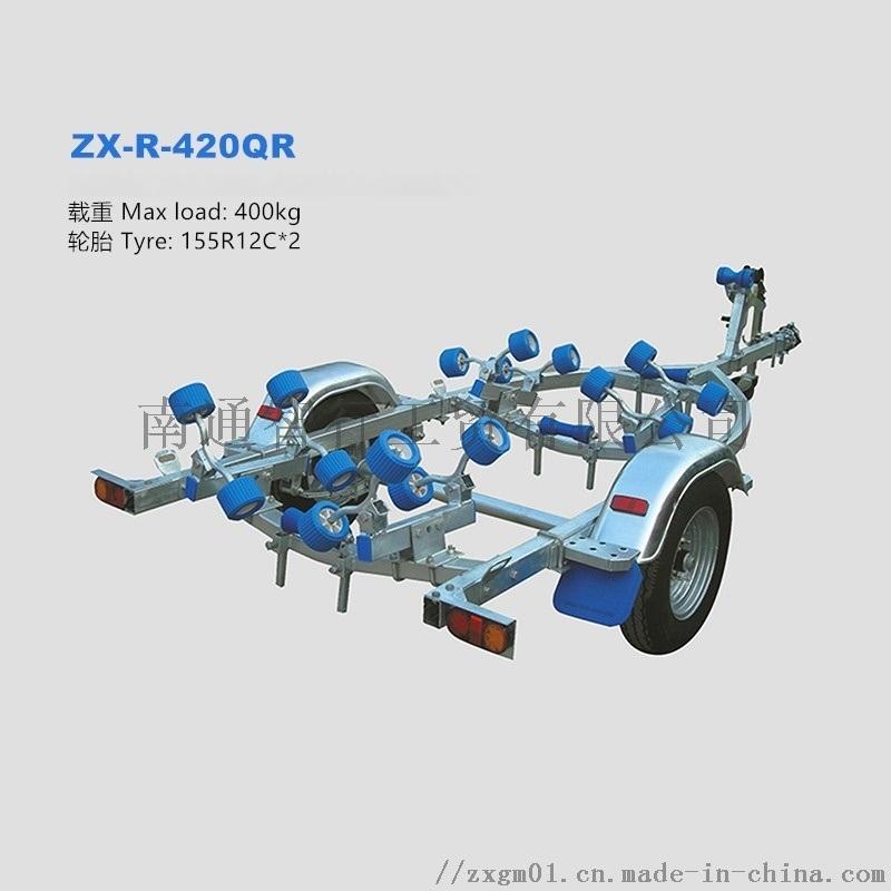供应船用拖车架适用3.6-4.0米船型
