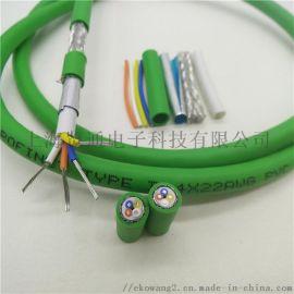 profinet柔性電纜-PN柔性通訊網線