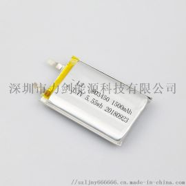 803450耐高温聚合物**电池 3.7V电子礼品 台灯夜灯美容仪器**电池