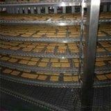 厂家直销304不锈钢螺旋速冻机饼干机配套冷却线螺旋塔冷却塔定制