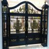 承德市雙橋區PVC草坪護欄歐式鑄鋁大門彰顯尊貴