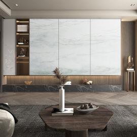 實木大理石沙發背景牆現代簡約餐廳背景牆生產廠家