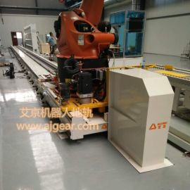 厂家直销ABB机器人第七轴 一次成型焊接地轨