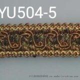 厂家直销窄带小边花边小吊穗绑带YU504型窄带