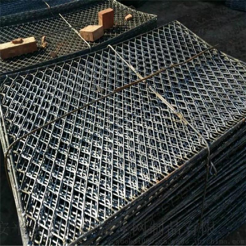建筑菱形钢笆片  钢笆片包边处理