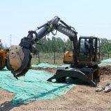 90小型輪式挖掘機 配置參數 廠家供應 輪式抓木機