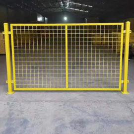 安全区域隔离网/绿色浸塑围栏网