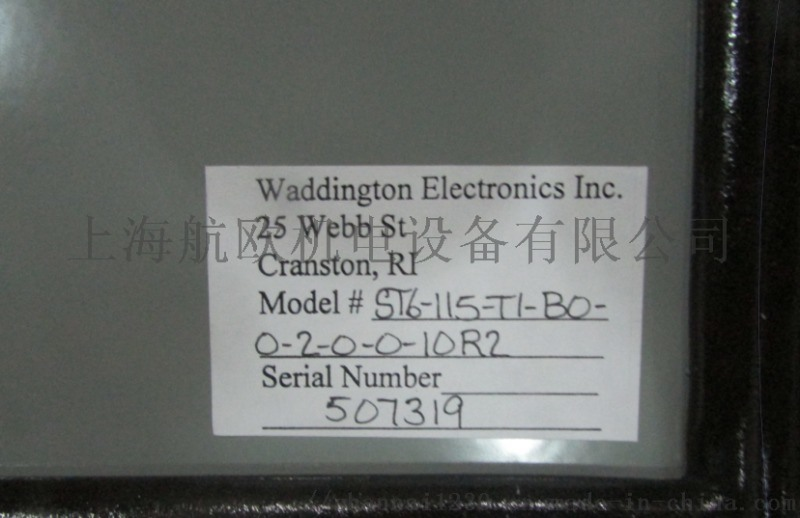 Waddington开关Waddington电源