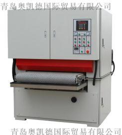 铝板打磨机 钢板打磨机 钛板砂光机