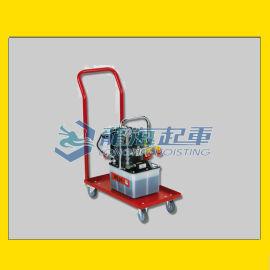 JPE30NVR电动液压泵,配有小推车运输安全简便