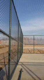 钢丝球场围网 绿色环保勾花网