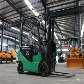 小型座驾式纯电动叉车 1吨1.5吨2吨四轮装卸升高叉车
