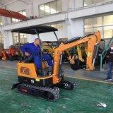 挖掘機的用途 裝卸車鉤機工作視頻 六九重工 輪胎式
