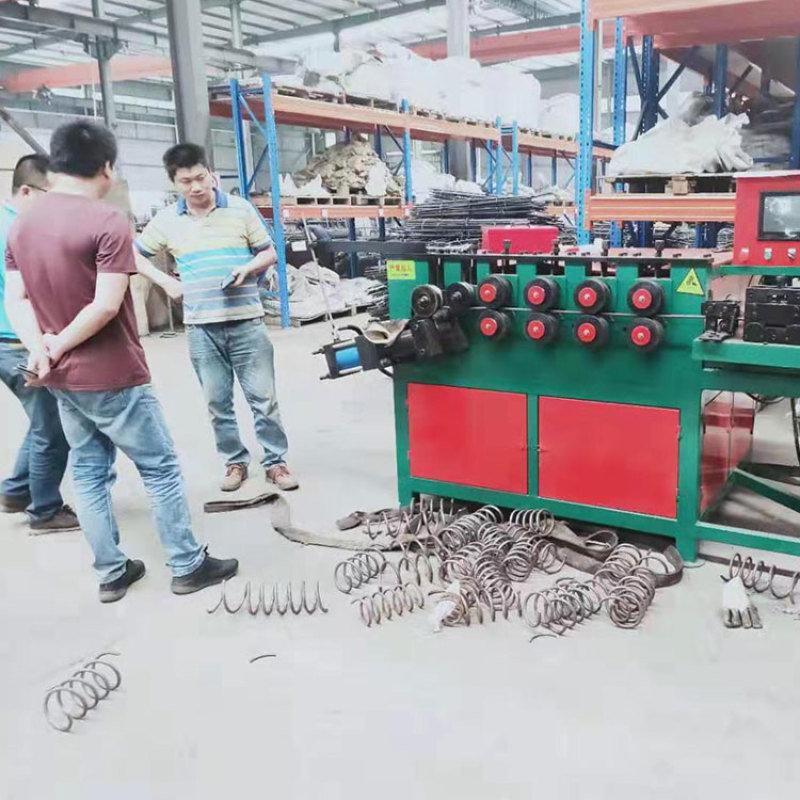 圆形螺旋筋机 锚具操作全自动数控螺旋筋机