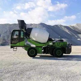 厂家直供 4方自动上料搅拌车 混凝土搅拌罐车