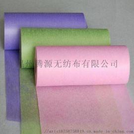 供应全涤纶鲜花包装无纺布彩色包花布