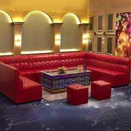 广州定制会所歌厅 沙发**定制材质KTV酒吧包厢
