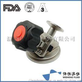 316L罐底阀隔膜阀 不锈钢食品级气动放料阀