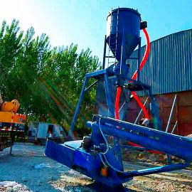 机械臂自动吸送水泥装罐上料机环保负压石粉送料设备