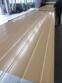 南通彩钢厂家定制姜黄色防火彩钢岩棉夹芯板