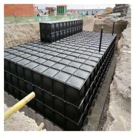 消防不锈钢水箱定做 矩形水箱 霈凯环保