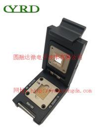 BGA100单扣式测试老化座-圆融达微电子技术公司