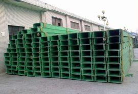 电缆敷设槽盒 霈凯 封闭式玻璃钢电缆桥架