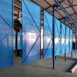建筑工地防护网 脚手架安全网 冲孔爬架网 现货发货