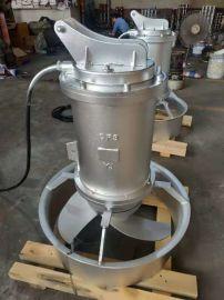 铸件式潜水搅拌机, 2.5/8不锈钢潜水搅拌机
