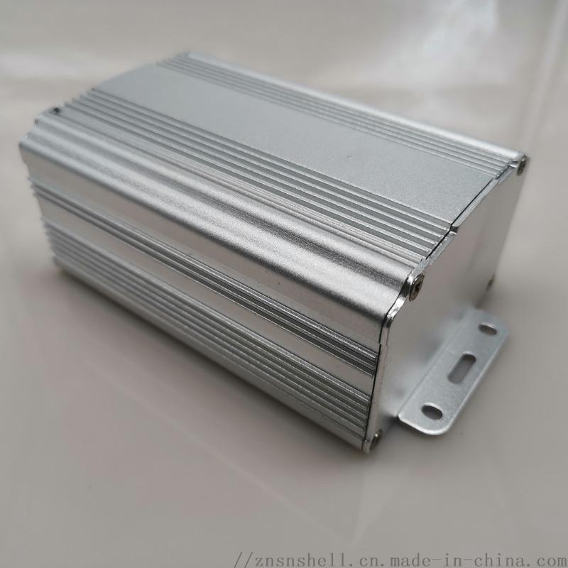 69*46散热外壳电源仪表铝合金壳体功放机箱铝盒金属过线盒子8002