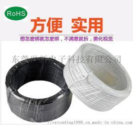环保PVC扎线扎带镀锌铁丝铁丝扎丝电缆绑丝园林艺葡萄架扎丝