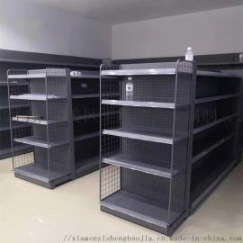 厦门超市洞洞板货架,商超多层置物架