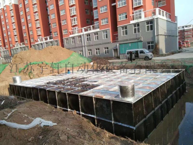 地埋式消防水池箱泵一体化