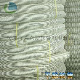 耐高压塑料平筋软管 塑筋增强软管