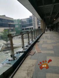 写字楼阳台玻璃栏杆立柱 不锈钢304防护栏立柱