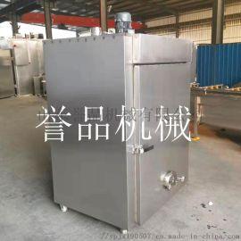 熏鸡糖熏炉设备-电加热烟熏炉-燃气型熏鸡炉