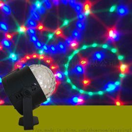 遥控水晶魔球 LED小魔球舞台灯 RGB七彩魔球灯