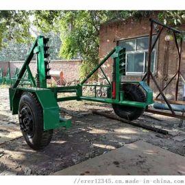 吉林市液压电缆放线车电缆线盘放线牵引车