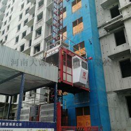 大型建筑工地用的人货施工升降机