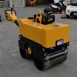 手扶双轮压路机 0.6吨手扶双钢轮压路机