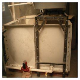 松原玻璃钢加热水箱 长方形调节水箱