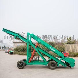 四川履带式青储扒草机 链条取料机厂家