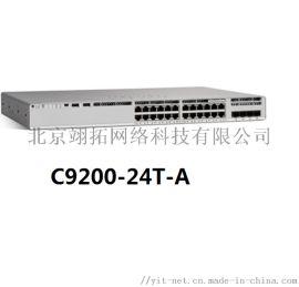 思科C9200-24T-A 24口千兆交换机
