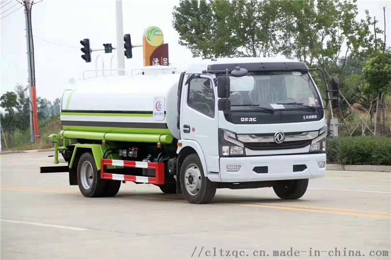程力国六8吨东风洒水车