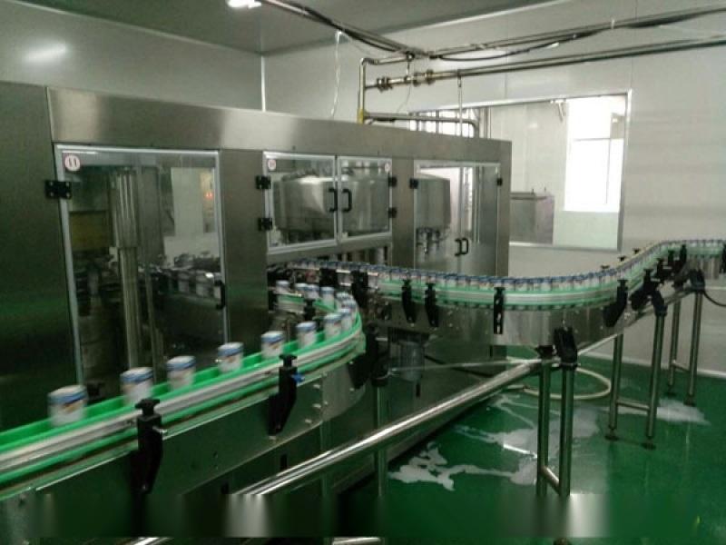易拉罐飲料灌裝機 全自動飲料灌裝生產線 小型飲料罐裝設備-科信原廠銷售